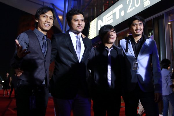 Sheila on 7 di Indonesian Choice Awards 2015