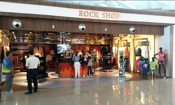 Hard Rock Cafe di Bandara