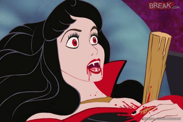 Sleeping Beauty sebagai Dracula