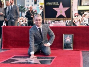 Daniel Radcliffe di Hollywood Walk of Fame