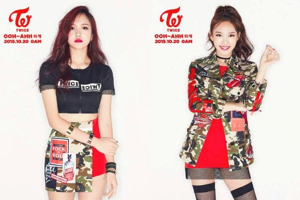 Nayeon dan Mina TWICE