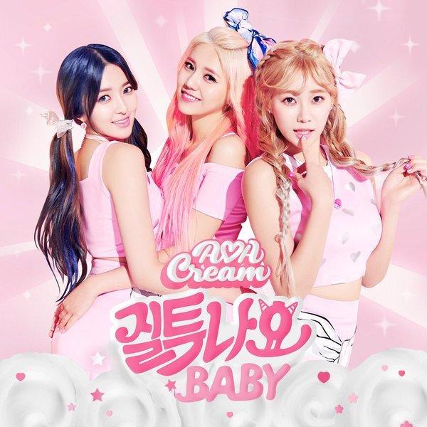 AOA Cream bertransformasi dalam teaser 'I'm Jelly Baby'
