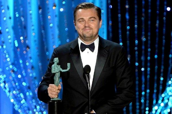 Leonardo di Caprio di SAG Awards 2016
