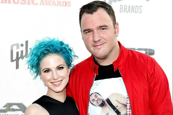 hayley-williams and Chad Gilbert