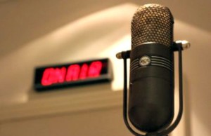 On Air in the Studio