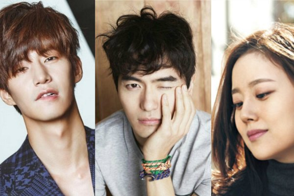 Song Jae Rim, Lee Jin Wook, dan Moon Chae Won