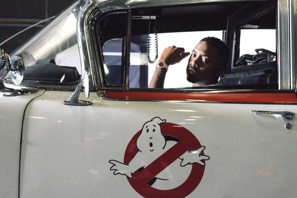 Radio Anak Muda_NAS dalam clothing line miliknya, HSTRY, kolaborasi menyambut rilisnya the iconic, film horror komedi, Ghostbuster