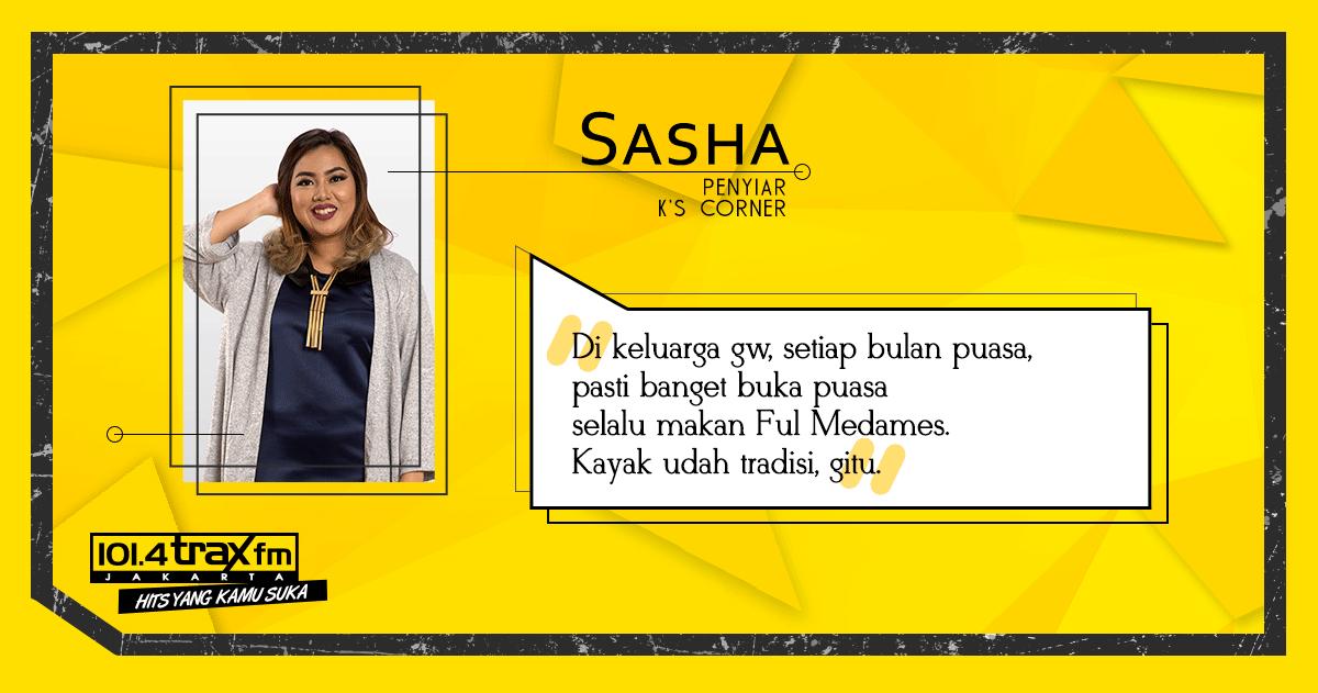 Radio Anak Muda_Sasha