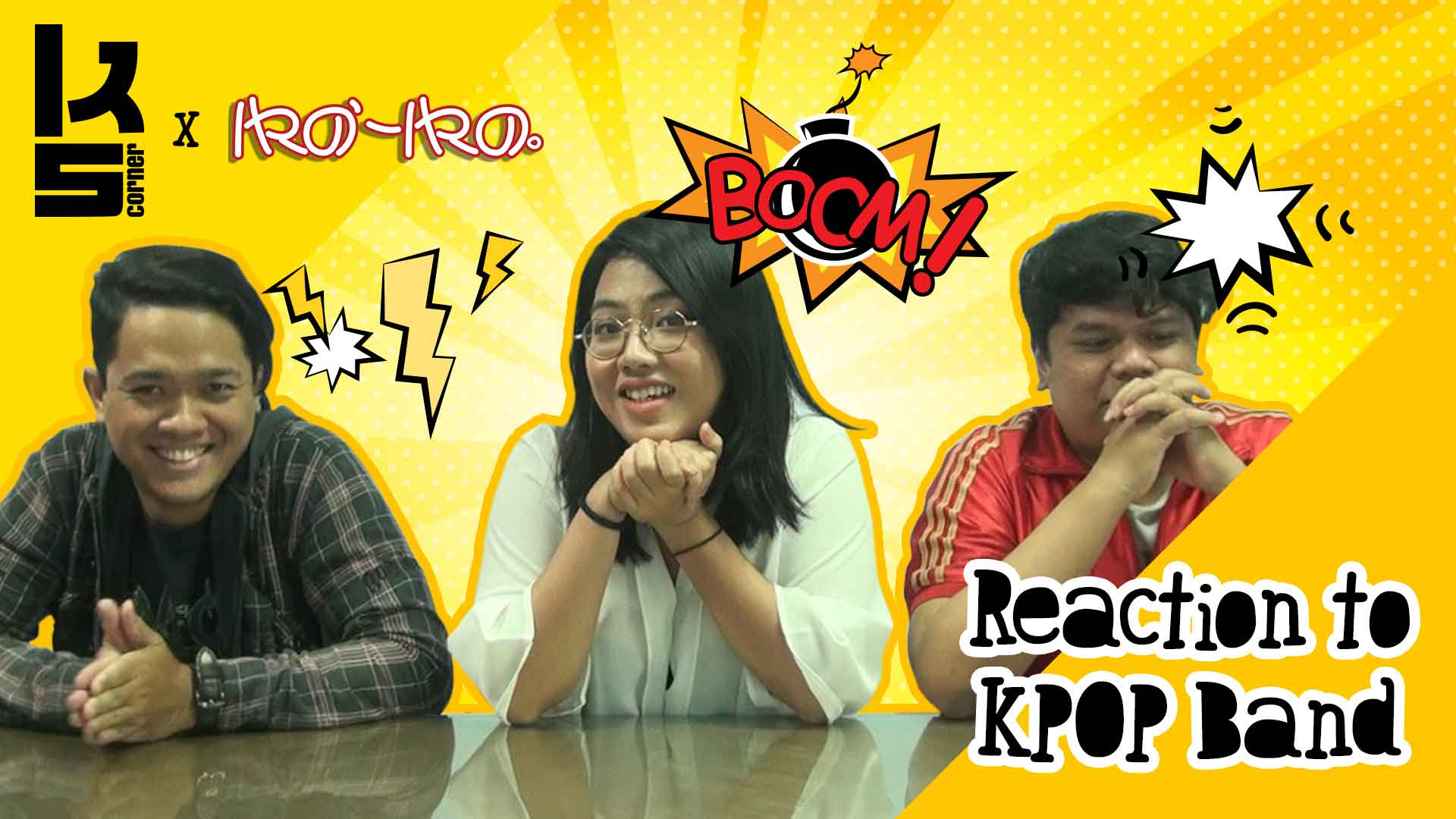 Dunia KPop_KS-Corner---Reaction-to-KPOP-Band
