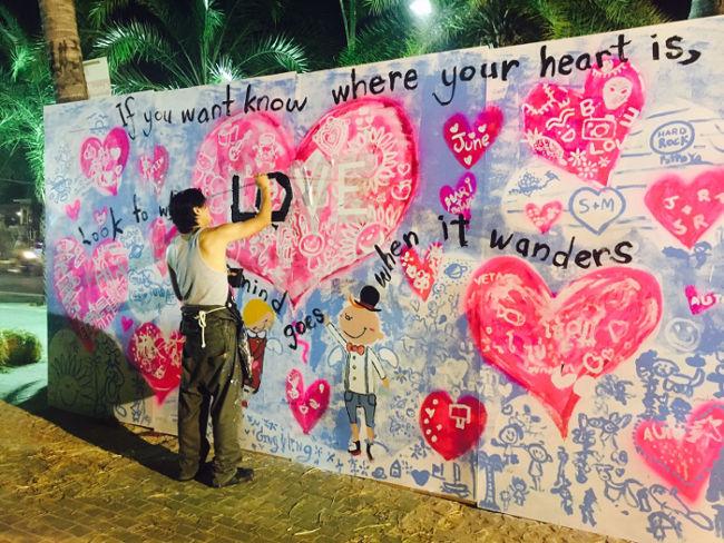 Radio Anak Muda_Live Painting