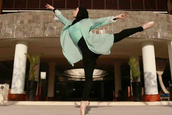 hijab balerina