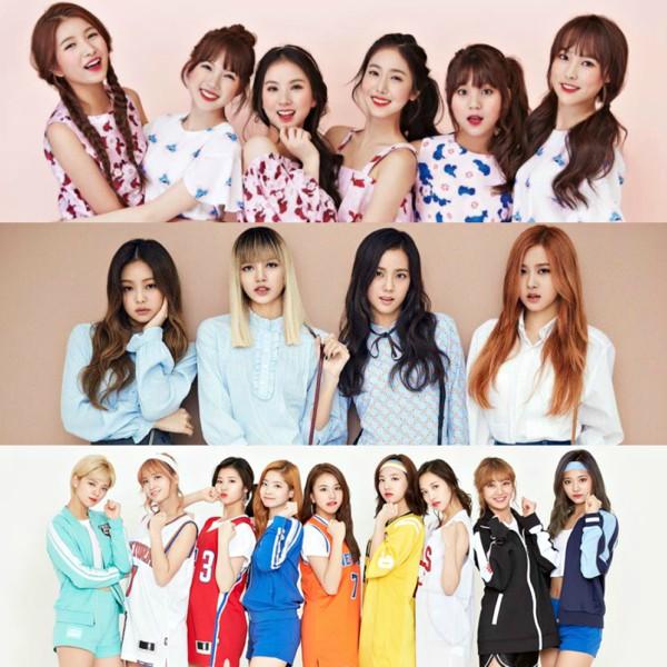 Dunia KPop_ girl group