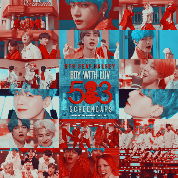 BTS Feat Halsey_ Boy With Luve