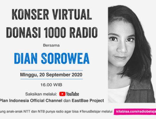 Dian Sorowea Gelar Konser Virtual 1000 Radio