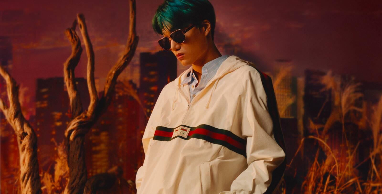 Kai EXO Gucci