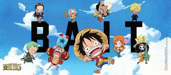 Kolaborasi Anime One Piece Dengan BAIT