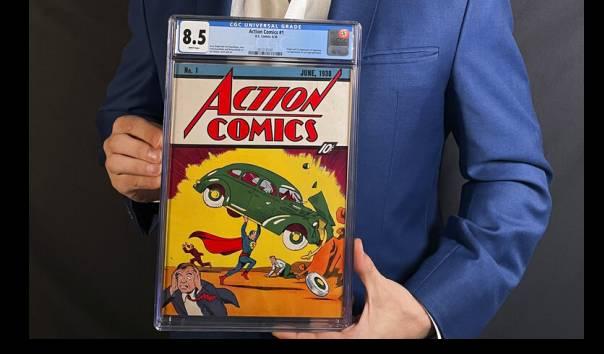 Komik Langka Superman