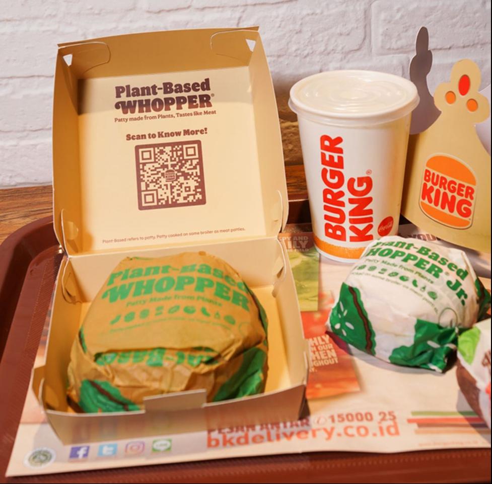 Burger King Patty Tanpa Daging