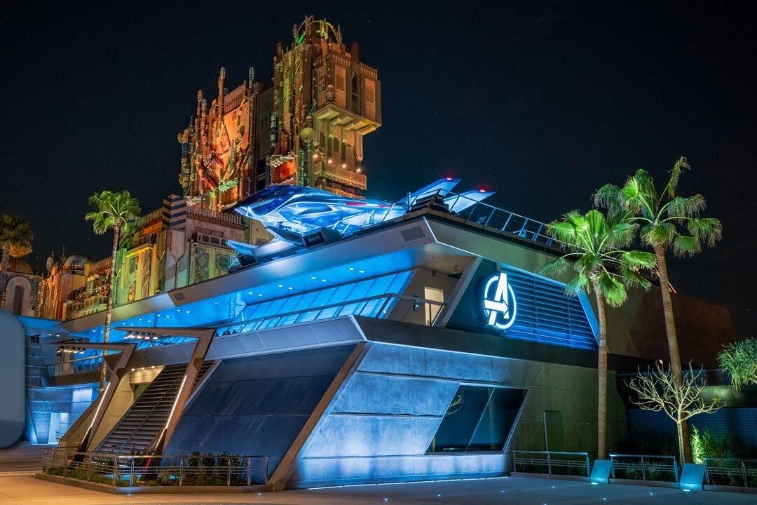Avengers Campus di Disneyland