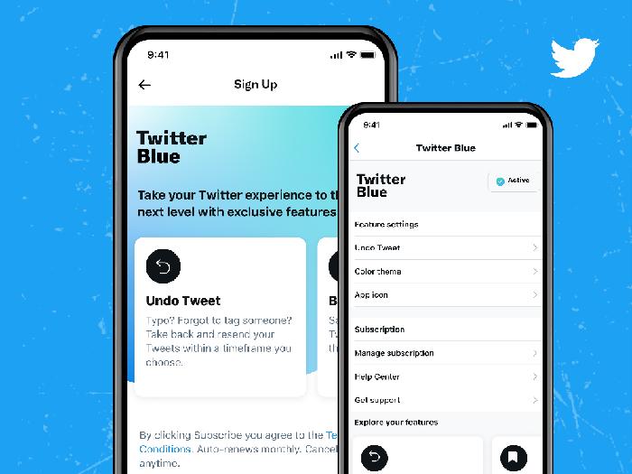 Fitur Twitter Blue