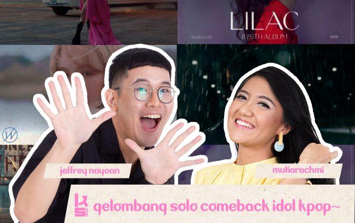K's Corner - Gelombang Solo Comeback Idol Kpop