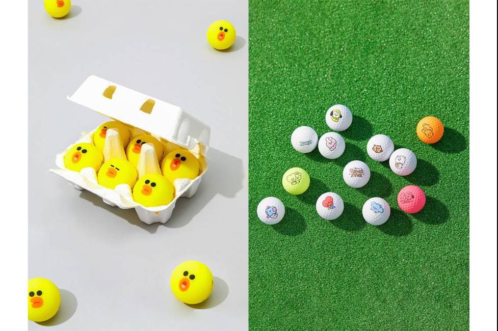 Line Friends Dan BT21 Hadirkan Printilan Olahraga Golf