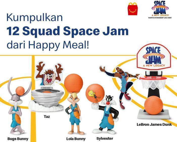 Happy Meal Edisi Space Jam: A New Legacy Hadir McDonald's Indonesia