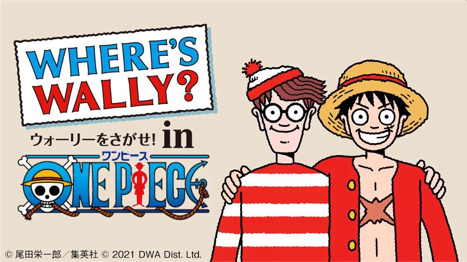 Kolaborasi One Piece x Where Wally Untuk Perayaan Anniversary Ke-24