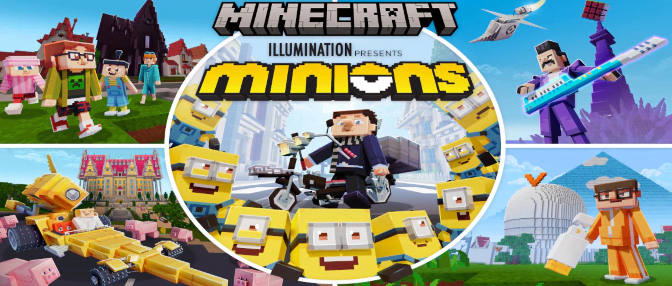 Minions Kini Hadir Di Game Minecraft