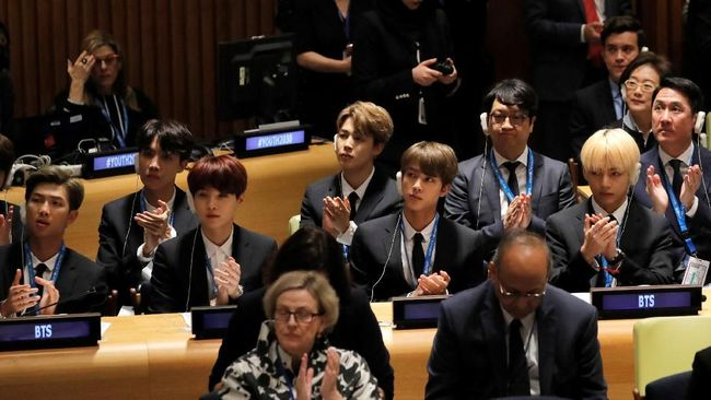 Ini Pesan BTS Saat Hadiri Sidang PBB
