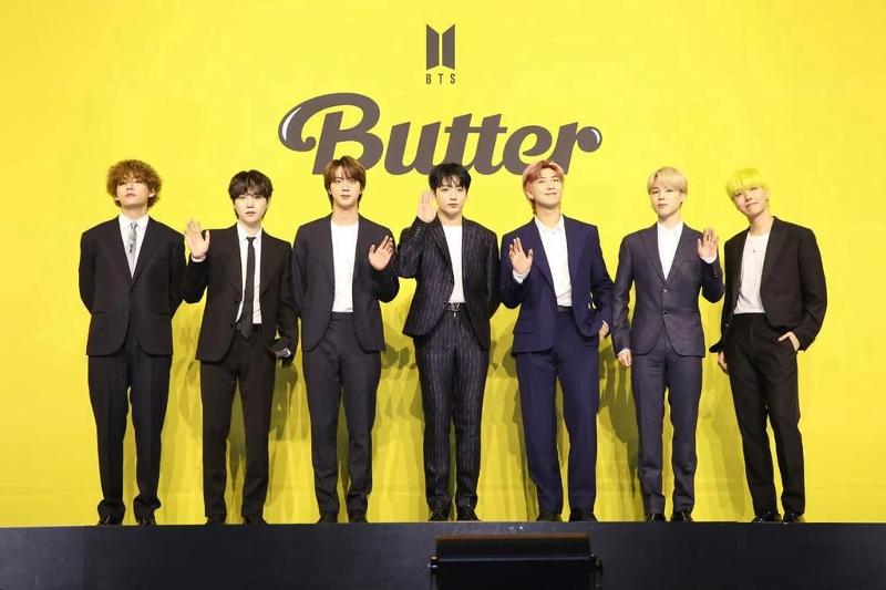 "Lagu ""Butter"" Milik BTS Tembus Penjualan 2 Juta Kopi"