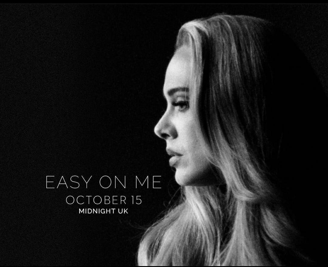 Adele Rilis Lagu 'Easy On Me'