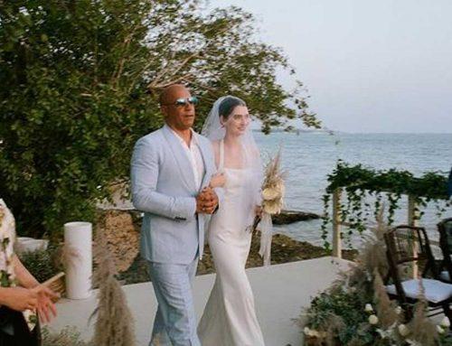 Potret Cantik Meadow Walker, Putri Paul Walker Yang Didampingi Vin Diesel Di Pernikahannya